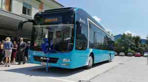 V Slovenijo je zapeljal prvi električni avtobus