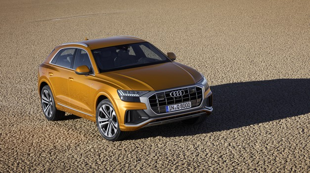 Audi Q8 je komaj prišel, a kaže, da kmalu ne bo več zastavonoša (foto: Audi)