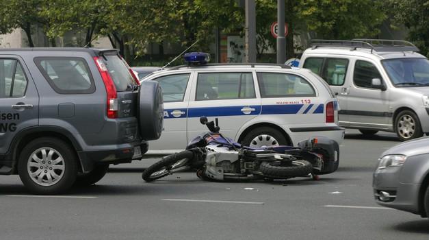 AVP začela drugi del akcije za večjo varnost motoristov na cestah (foto: Arhiv AM)
