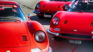 Ferrari praznuje 50. obletnico Dina