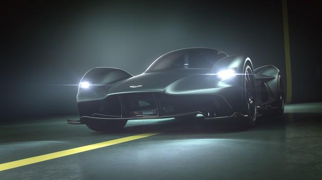 Aston Martin Valkyrie bi lahko izboljšal čas Porscheja 919 (foto: Aston Martin)