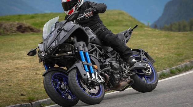 Vozili smo: Yamaha Niken (foto: Alessio Barbanti)