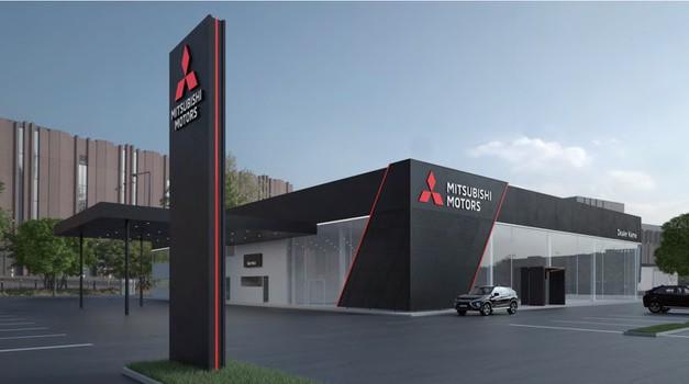 Mitsubishi predstavlja nov oblikovalski jezik v svojih salonih (foto: Mitsubishi)