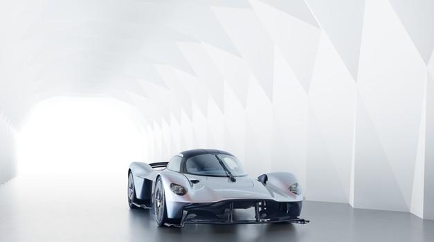 Aston Martin Valkyrie zveni kot stari dirkalnik formule 1 (foto: Aston Martin)