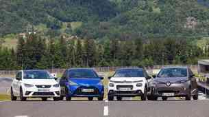 Kam vložiti prihranke: v električni, hibridni, dizelski ali bencinski avtomobil? Primerjalni test.