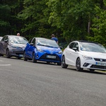 Kam vložiti prihranke: v električni, hibridni, dizelski ali bencinski avtomobil? Primerjalni test. (foto: Saša Kapetanovič)