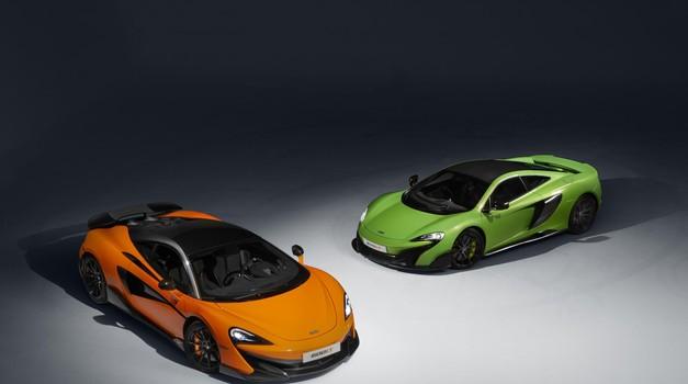 McLaren 600LT razkrit v vsem svojem sijaju (foto: Newspress)