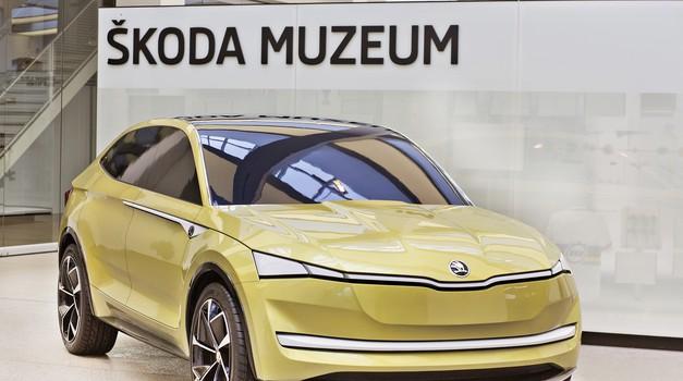 Škoda Vision E concept bo dobila tudi športno različico RS (foto: Škoda)
