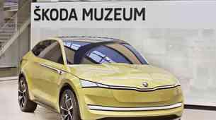 Škoda Vision E concept bo dobila tudi športno različico RS