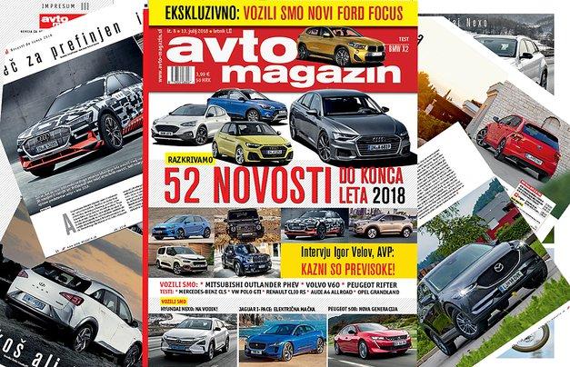Izšel je novi Avto magazin! Testi: Mercedes-Benz CLS, BMW X2 (foto: mj)