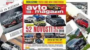 Izšel je novi Avto magazin! Testi: Mercedes-Benz CLS, BMW X2