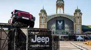 Jeep je praznoval 115 let Harley-Davidsona