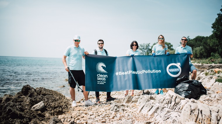 Volvo Car Adria v boju za čistejše morje (foto: Volvo Car Adria)