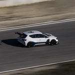 Električni dirkalnik Cupra e-Racer se je uspešno spopadel z dirkališčem (foto: Cupra)