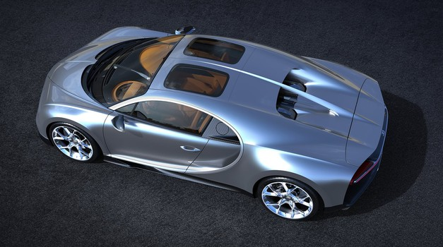 Bugatti Chiron prinaša več svetlobe v potniško kabino (foto: Bugatti)