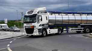 AVP: Neuporaba varnostnih pasov še naprej težava med vozniki tovornih vozil