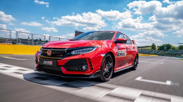 Honda Civic Type-R najhitrejša tudi na Hungaruringu (foto: Honda)