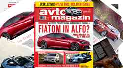 Izšel je novi Avto magazin! Testi: Jaguar E-Pace, VW Touareg, Mercedes razred X