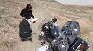 """Sergej o potovanju z motociklom v Iran: """"Bencin po 22 centov, ljudje neverjetno prijazni."""""""