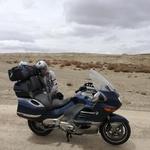 """Sergej o potovanju z motociklom v Iran: """"Bencin po 22 centov, ljudje neverjetno prijazni."""" (foto: Sergej Kosman)"""