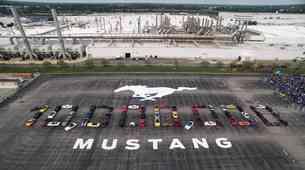 Ford izdelal že 10 milijonov Mustangov