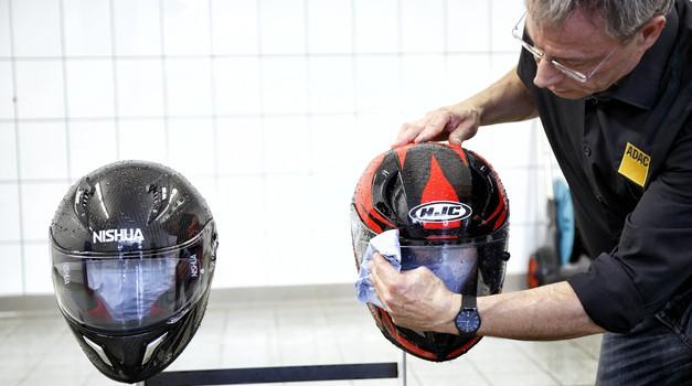 AMZS-test motorističnih čelad: zmagovalka je Shoei, NEXX s slabo oceno (foto: AMZS)
