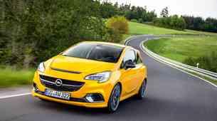 Opel Corsa GSi s tem tednom na voljo tudi v Sloveniji
