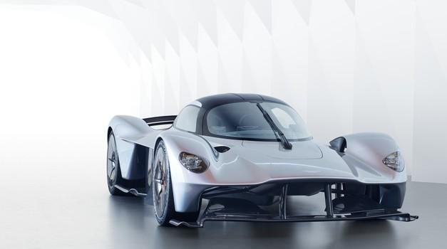 Aston Martin napoveduje 'sina Valkyrie' (foto: Aston Martin)