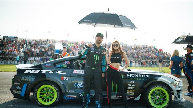 """Vaughn Gittin Jr.: """"Želim si, da dirkači iz drugih disciplin pokažejo več svoje osebnosti in se zabavajo na progi"""" (foto: Monster Energy)"""