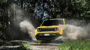 Jeep Renegade je majhen, pa kaj potem!