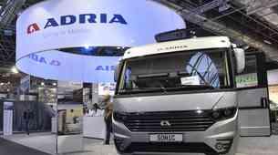 Adria Mobil v Düsseldorfu znova ob boku največjih