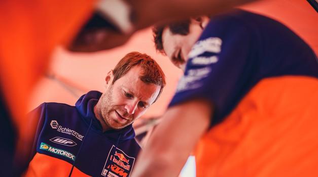 S Tino čez bankino #25: Stefan Huber, tehnični šef reli ekipe KTM o tem, kako postati ... šef (foto: Sebas Romeno/KTM Images)