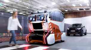 Jaguar Land Roverjev avtonomni avtomobil je dobil prijazne virtualne oči