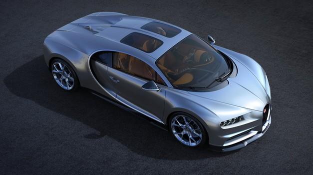 Lego Bugatti Chiron je dobil brata v naravni velikosti (foto: Bugatti)