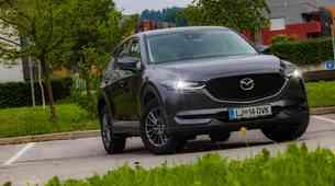 Podaljšani test: Mazda CX-5 CD150 AWD - Zastavonoša