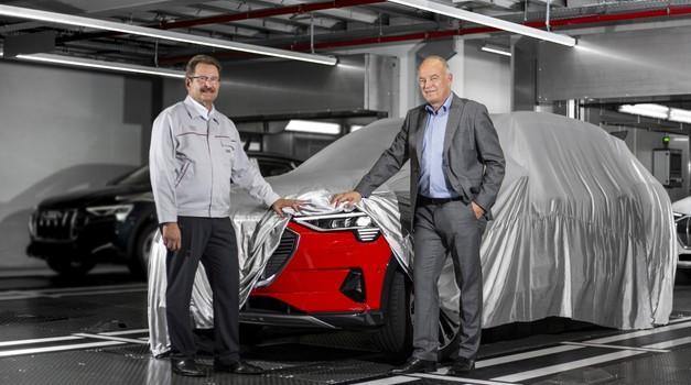Audi že začel proizvodnjo modela e-tron (foto: Audi)