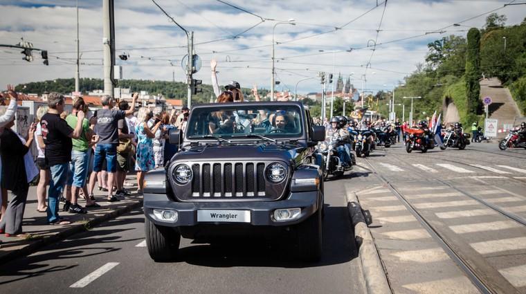 Jeep in Harley-Davidson zaključujeta evropsko turnejo ob 115-letnici proizvajalca motorjev (foto: Newspress)
