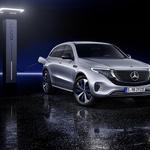 Mercedes-Benz EQC je evropski odgovor na ameriški Tesla Model X (foto: Daimler)