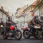 Ugledna gospoda z motorji v boj proti raku prostate (foto: Andraž Kopitar)