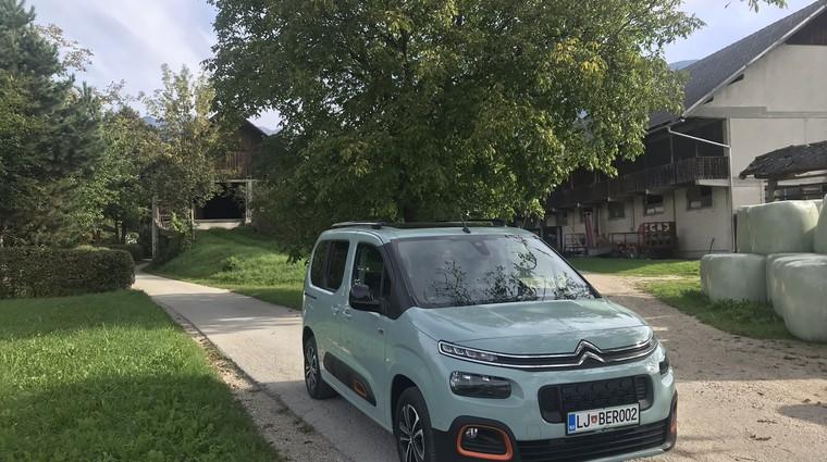 Novo v Sloveniji: Citroën Berlingo (foto: Tomaž Porekar)