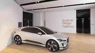 Jaguar I-Pace odhaja v škotski muzej oblikovanja