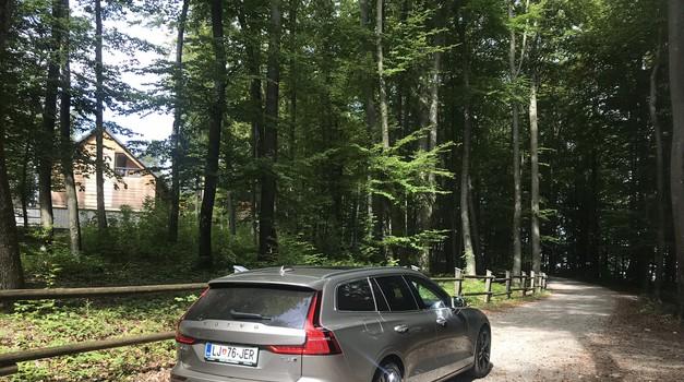 Novo V Sloveniji: Volvo V60 (foto: Volvo, Tomaž Porekar)