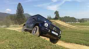 Novo v Sloveniji: Po skoraj 40 letih v Slovenijo zapeljal novi Mercedes-Benz razred G