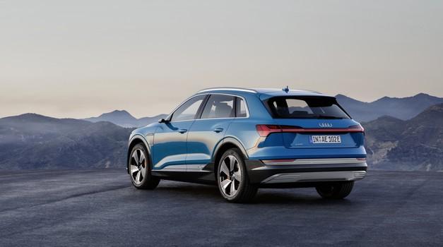 Audi je za model e-tron izbral Goodyearjeve pnevmatike (foto: Audi)