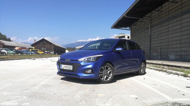 Novo v Sloveniji: Hyundai i20 po štirih letih s prenovljeno podobo in brez dizlov (foto: Jure Šujica)