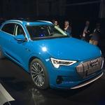 Audi je predstavil svoj prvi pravi električni avtomobil, dolgo pričakovani e-tron (foto: Dušan Lukič)
