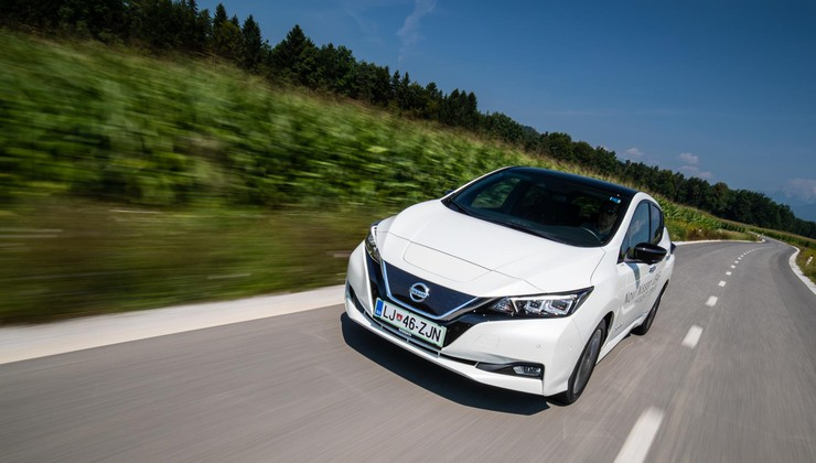 Test: Nissan Leaf Tekna