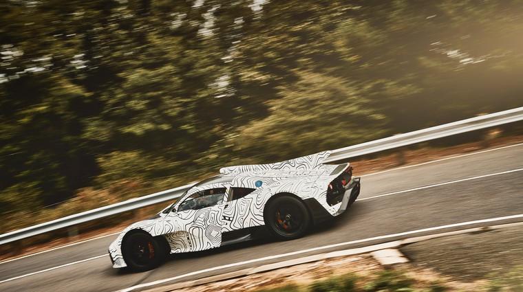 Mercedes-AMG Project One je rezultat virtualnega inženiringa (foto: Daimler AG)