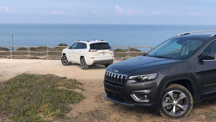 Prenovljeni Jeep Cherokee in prvi kilometri na Siciliji