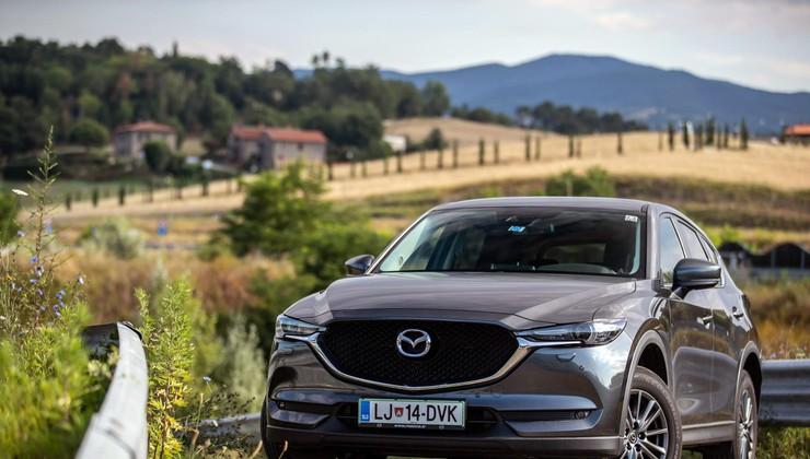 Podaljšani test: Mazda CX-5 CD150 AWD - Križanec ali športni terenec?